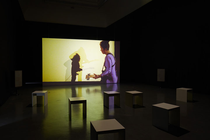 D View Of Exhibition : Pauline boudry renate lorenz exhibition views